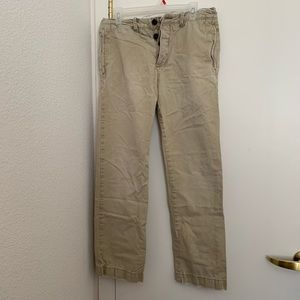 Abercrombie & Fitch Light Khaki Pants